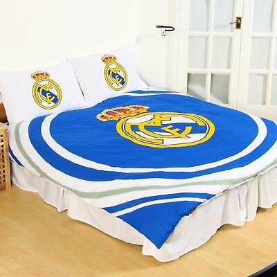 £9.95 • Buy Real Madrid Double Quilt Cover & 2 Pillowcases