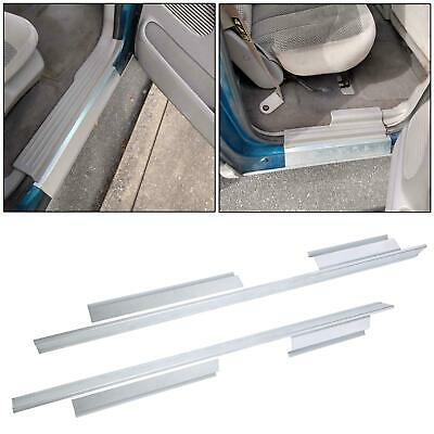 $63.50 • Buy For 2001-2003 Ford F150 Pickup Crew Cab Outer Slip-on Rocker Panels Pair NEW
