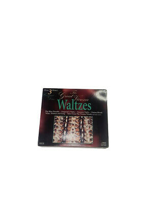 The Great Vienna Waltzes 1994 Madacy 3 Set CD Over 3 Hours • 10.72£
