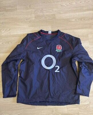 Men's England Rugby Drill Top SIZE LARGE • 10£