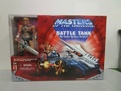 $39.99 • Buy Masters Of The Universe MOTU 2001 Battle Tank He-Man Unused In Open Box MIB 200X