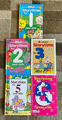 5 Ladybird Books Storytime For 1 2 3 5 6 Year Olds • 5£
