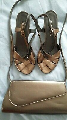 Mother Of The Bride / Groom Or Special Occasion Shoes & Matching Bag • 8£