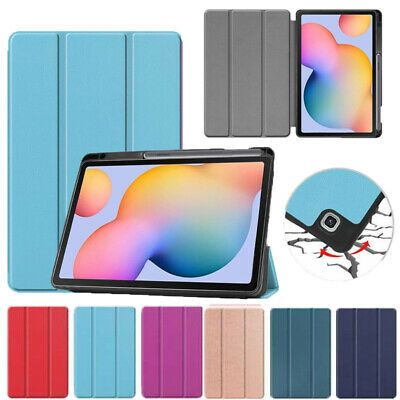 AU20.59 • Buy For Samsung Galaxy Tab S6 Lite P610 P615 Smart Shockproof Case Cover W Pen Slot