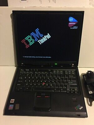 The Legend - IBM Thinkpad T43p 2.26GHz Windows 7 Professional - Nice • 247.65£