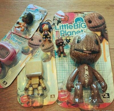£19.99 • Buy Little Big Planet Collectable Figure/Keyring Sackboy/Sackbot/Console Kitty New