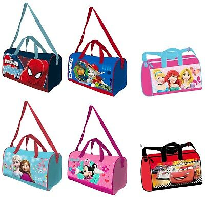£9.99 • Buy Kids Character Sport Gym Swim Travel Duffle Bag With Adjustable Straps