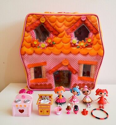 Lalaloopsy Carry Along House Case With Dolls And Accessories • 24.99£