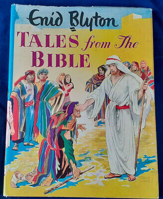 Enid Blyton - Tales From The Bible. Illustrations By Grace Lodge. 1950s.  • 13.99£