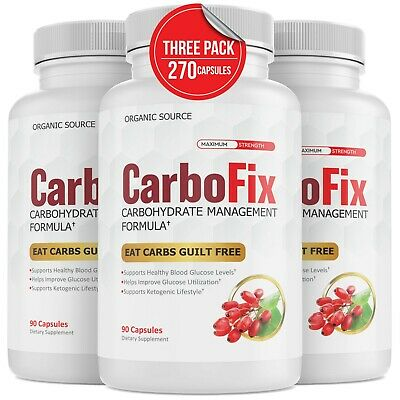 $16.68 • Buy Carbofix Advanced Carbohydrate Management Formula Diet Pills  Weight Loss Keto