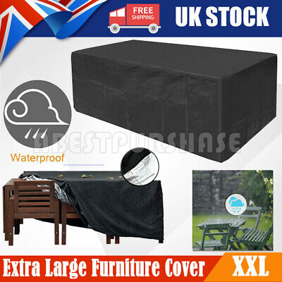 Waterproof Garden Patio Furniture Set Cover Covers For Outdoor Rattan Table Cube • 17.99£