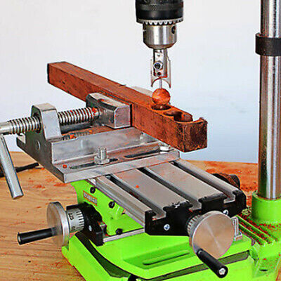 £25.90 • Buy Mini Precision Milling Machine Bench Drill Vise Fixture Work Table X Y-axis J7D8