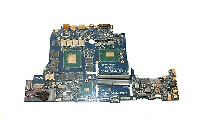 $ CDN1642.10 • Buy D3R1D Dell Alienware 17 R4 R5 Motherboard-W / I7-8750H 4.1GHz CPU GTX 1070 8GB