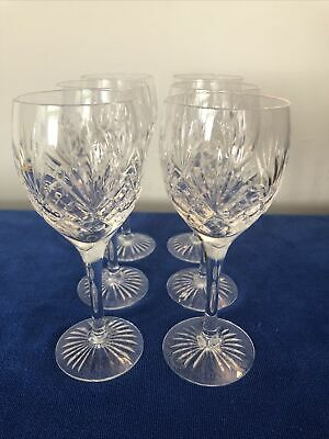 Vintage Royal Doulton 'Westminster' Crystal Cut Glass White Wine  • 25£