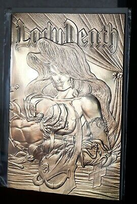 Lady Death The Odyssey #1 Comic NM Gold Foil Covers • 4.95£