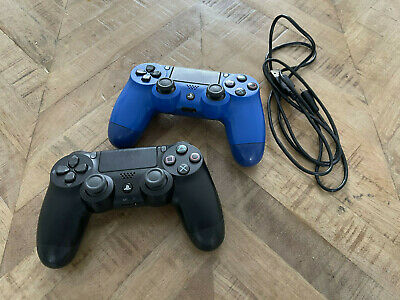 AU33.91 • Buy 2x Official SONY PS4 DualShock 4 Controllers - Playstation 4/PS4 Pro Genuine
