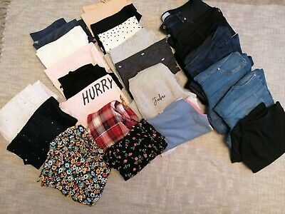 Maternity Clothes Bundle Size 12, Tshirts, JEAN'S, Jumpers, Dresses. Mostly... • 19£