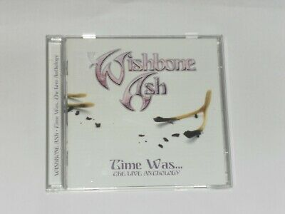 Wishbone Ash - Time Was The Live Anthology    2 Cd Set    Mint • 3.99£