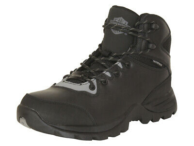 $ CDN101.56 • Buy Harley-Davidson Men's Benham Waterproof Black/Grey Boots Shoes