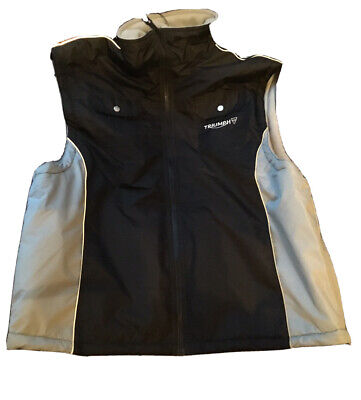 Triumph Works Clothing - Men's , Fleece Lined GILET - New, Superb & Very Rare. • 39.95£
