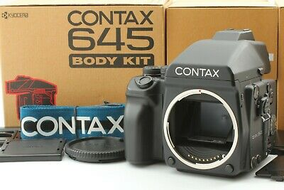 $ CDN3493.91 • Buy [Fast Neu IN Karton] Contax 645 Körper Set Medium Format Film Kamera Aus Japan