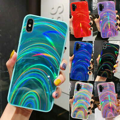 Rainbow Dazzling Bling Mirror Silicone Case For IPhone 12 SE 2020 7Plus 8 XR Xs • 6.59£
