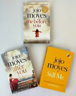 AU25 • Buy 3 X Jojo Moyes Books - Me Before You, After You, Still Me - Complete Set/Series