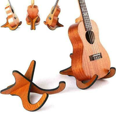 AU13.33 • Buy Folding Ukulele Violin Bass Guitar Stand A Frame Floor Hanger Ra Holder G6B2