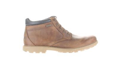 Rockport Mens Rugged Bucks Boston Tan Ankle Boots Size 14 (Wide) (1750512) • 55.03£