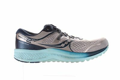 $ CDN74.68 • Buy Saucony Womens Omni Iso 2 Grey/Aqua Running Shoes Size 11 (1751349)