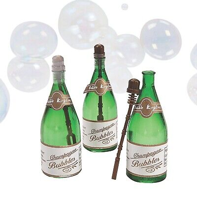 £19.82 • Buy 48 Champagne Bottle Wedding Bubbles Mini Party Favors Reception New Years