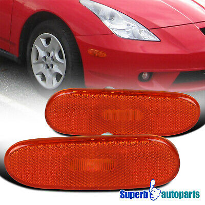 $16.98 • Buy For 2000-2005 Celica Side Marker Turn Signal Lights Lamps Pair