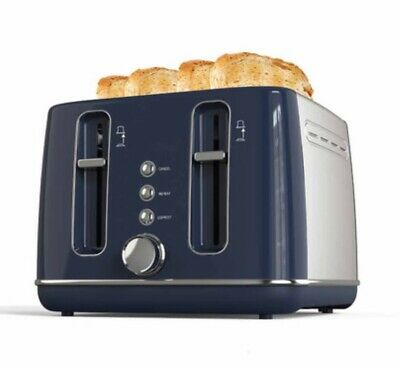 AU80 • Buy (brand New) 4 Slice Stainless Steel Toaster- Blue