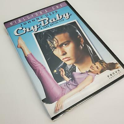 AU21.89 • Buy Cry Baby DVD Johnny Depp Director's Cut 2005 John Waters Film Widescreen Sealed