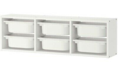 TROFAST Wall Storage, White, 99x30 Cm  • 20£