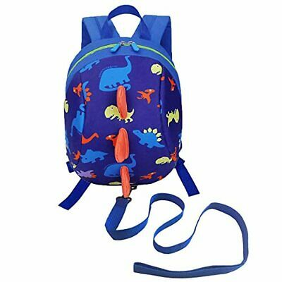 DD Toddler Backpack With Reins, Cute Kids Child Dinosaur Bag For Boys Girls, Car • 16.04£