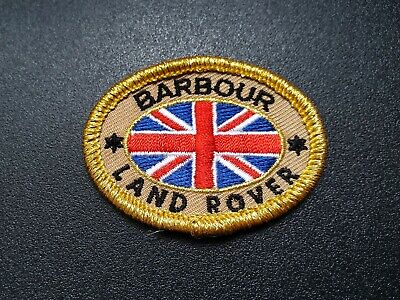 Barbour Land Rover Sew-on Patch Badge  • 4.99£
