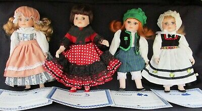 $ CDN31.54 • Buy Royalton Collection Doll Lot Norway Ireland Spain Finland Kirsi Lot Porcelain