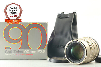 $ CDN282.95 • Buy [Mint In BOX] Contax Carl Zeiss Sonnar T 90mm F2.8 Lens For G1 G2 JAPAN #2222