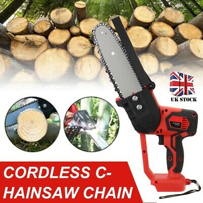Electric Cordless Chainsaw Chain Saw Garden Cutting Tool For 18V Makita Battery • 55.99£