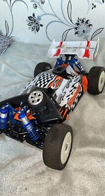 Rc Nitro Car 1:8 Scale Buggy Racing 21C Engine Acme Racing Nitro • 86£