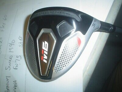 $ CDN233.58 • Buy Used TaylorMade M6 3 Wood Fairway Wood, Men Right Hand, 15 Degree Loft  STIFF
