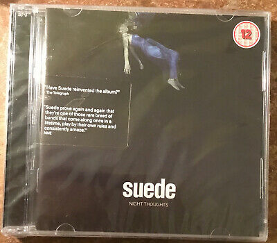 Suede Night Thoughts 1cd 1dvd New Sealed • 11.58£