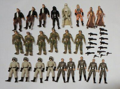 $ CDN25.23 • Buy 23 Vintage Star Wars Action Figures With Some Weapons
