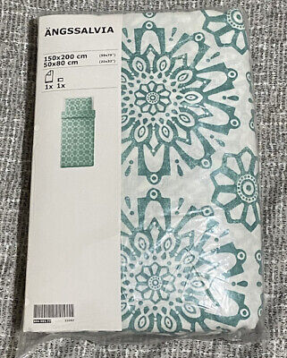 BNIP IKEA Angssalvia Single Duvet Cover Set Reversible • 2£
