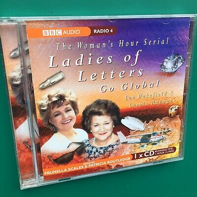 Woman's Hour LADIES OF LETTERS GO GLOBAL CD Pru Scales Pat Routledge BBC Radio 4 • 16£