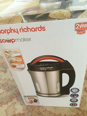 HARDLY USED Morphy Richards Soupmaker. Model No:48822. Very Clean • 35£