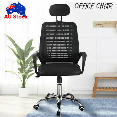 AU61.99 • Buy Ergonomic Executive Office Computer Chair Breathable Mesh Cushions Support Seat