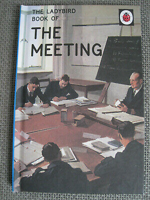 X 2 Ladybird Books For Grown Ups - The Shed & The Meeting • 3£