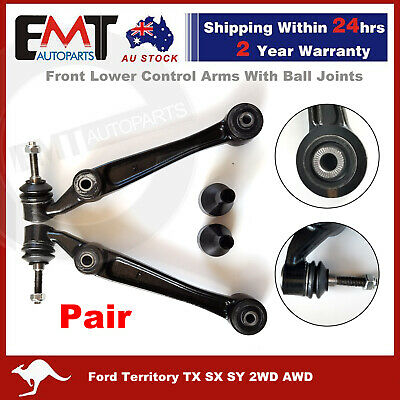 AU82.60 • Buy Front Lower Control Arms Ball Joints For Ford Territory TX SX SY 2WD AWD LH & RH